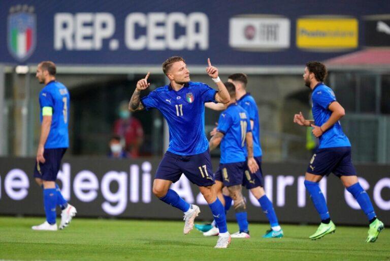ชื่นมื่นทั้งคู่ อิตาลีซิวแชมป์กลุ่ม-เวลส์พ่ายแพ้แต่ว่าได้ไปต่อรอบ16ทีมยูโร